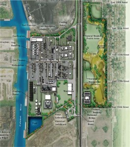 The Site Plan for the proposed fscility.