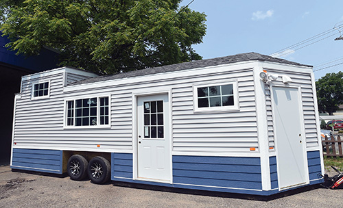 White Bear Lake Man Invents Portable Houses For Disabled