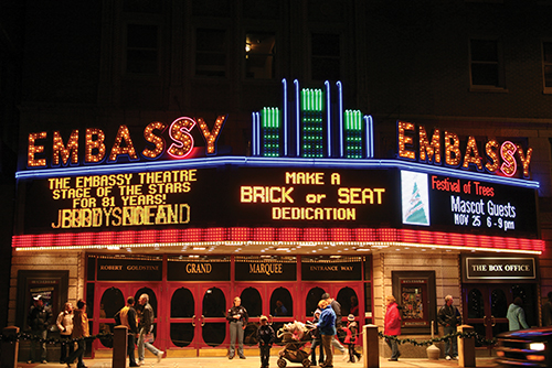 Renovations On Embassy Theatre Should Be Finished By March